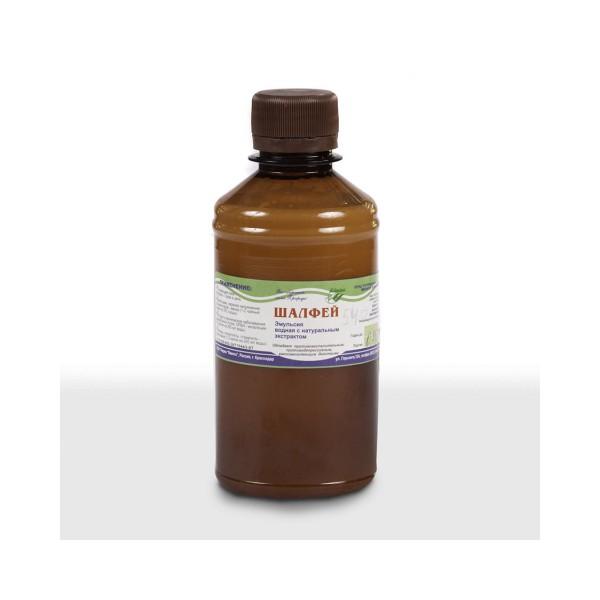 Эмульсия водная с натуральным экстрактом шалфея 250,0 мл