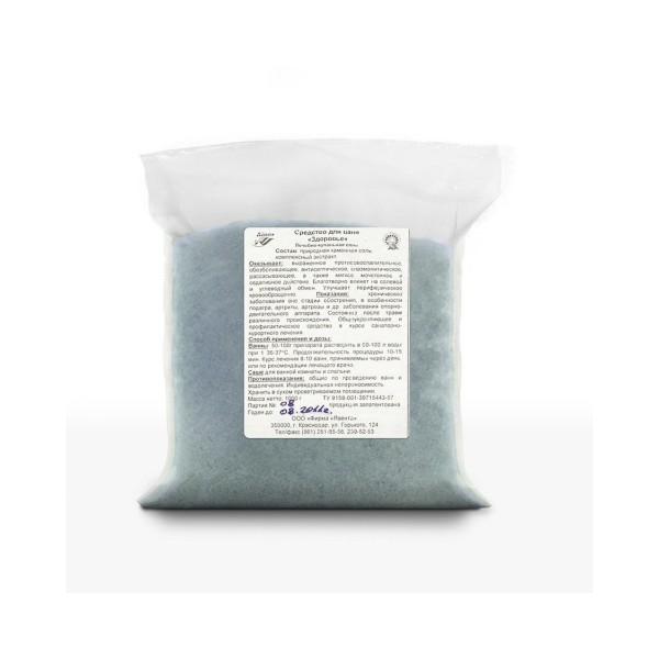 """Лечебно-купальная соль """"ЗДОРОВЬЕ"""" 1,0 кг - восстанавливающая"""