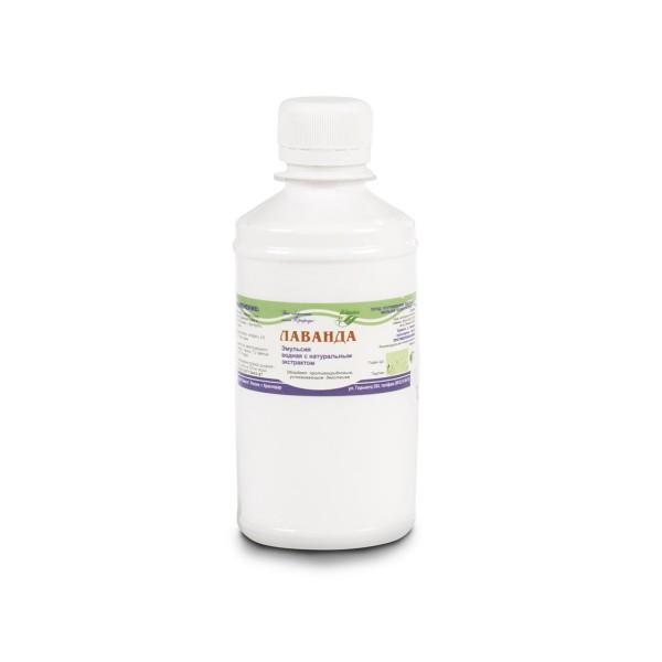 Эмульсия водная с натуральным экстрактом лаванды 250,0 мл