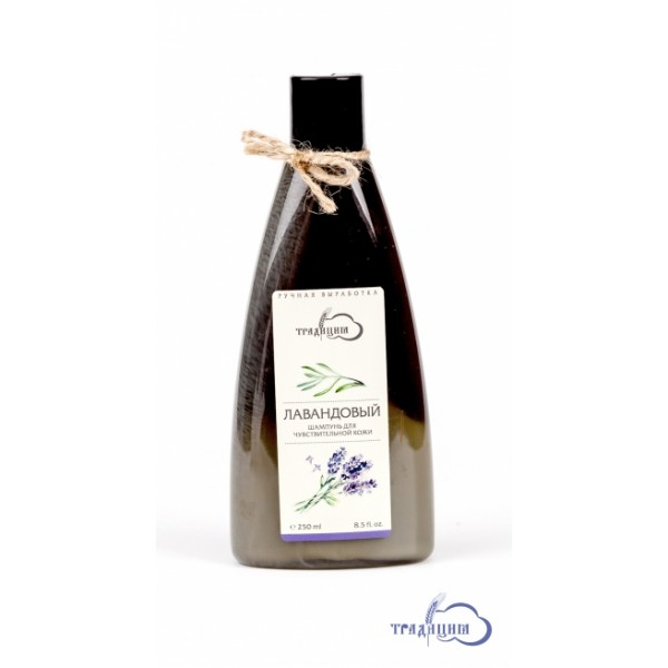"""Шампунь """"Лавандовый"""" для чувствительной кожи головы, для любого типа волос 250,0 мл"""