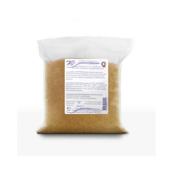 Лечебно-купальная соль с экстрактом кориандра 1,0 кг