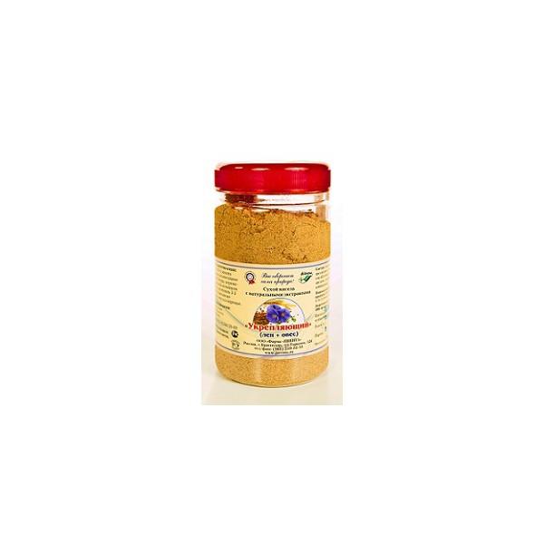 Сухой кисель с натуральными экстрактами «Укрепляющий» (лен + овес)