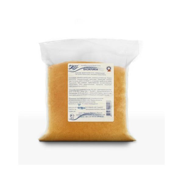 Лечебно-купальная соль с экстрактом базилика 1,0 кг
