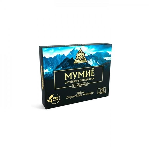 "Мумиё ""Алтайский нектар"" в таблетках №20"