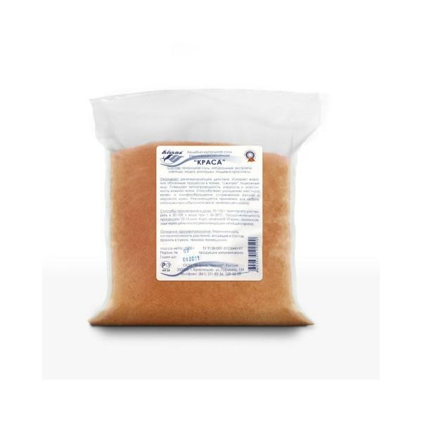 """Лечебно-купальная соль """"КРАСА"""" 1,0 кг - противоцеллюлитная"""