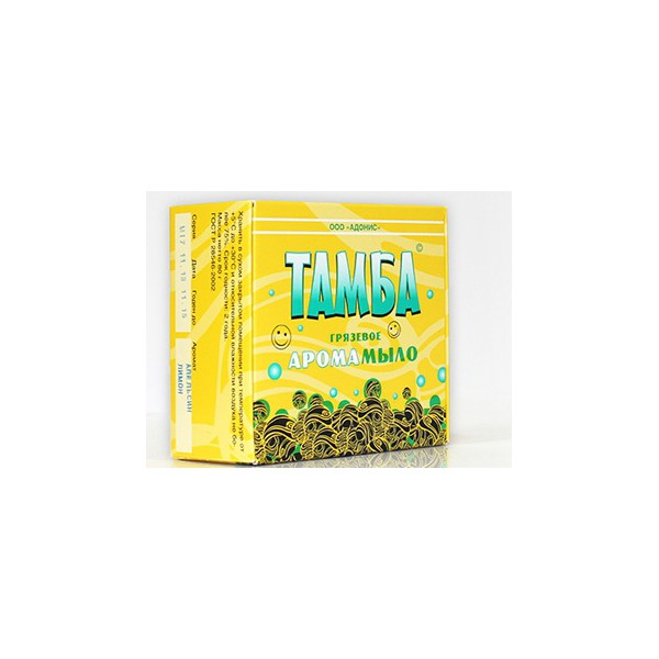 Грязевое мыло Тамба Лимон-апельсин