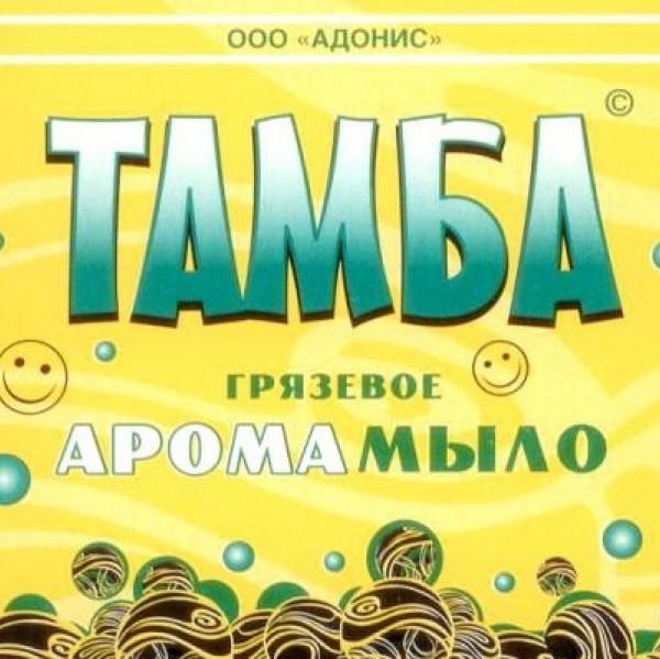 Мыло грязевое Тамба  Корица-апельсин