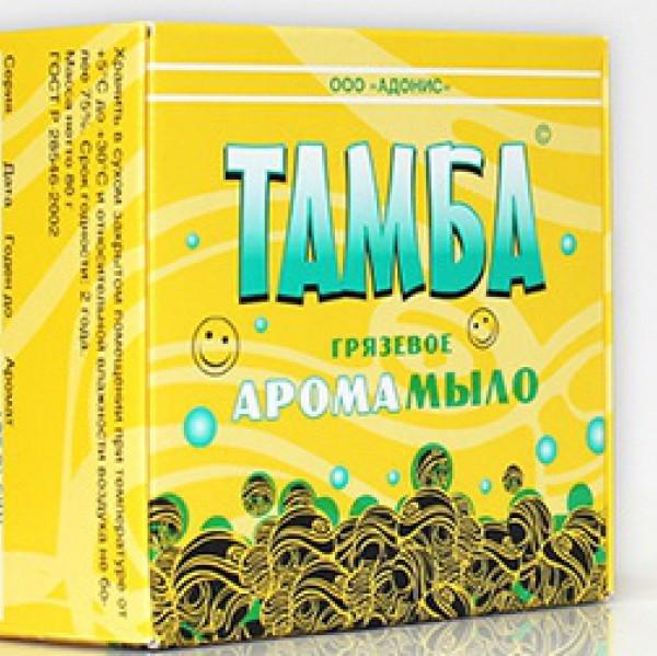 Мыло грязевое Тамба  Лимон-лаванда