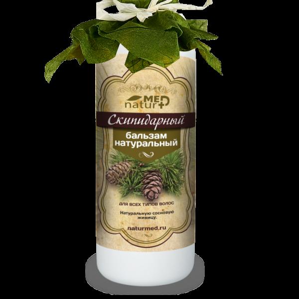 Скипидарный бальзам-кондиционер для волос натуральный 150,0 мл