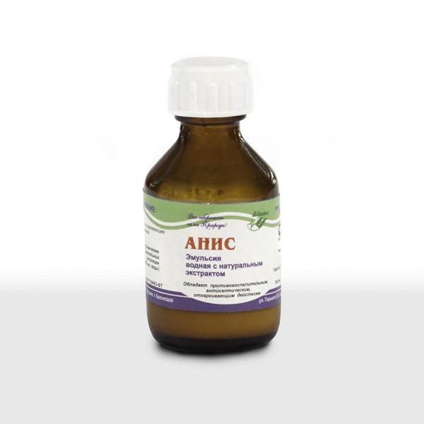 Водная эмульсия с натуральным экстрактом аниса 30,0 мл