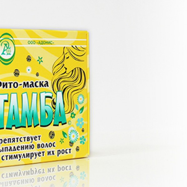 """Фито-маска """"Тамба""""препятствует выпадению волос и стимулирует их рост"""