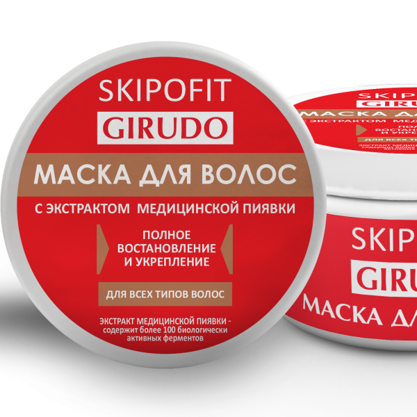 Маска для волос с экстрактом медицинской пиявки 250,0 мл