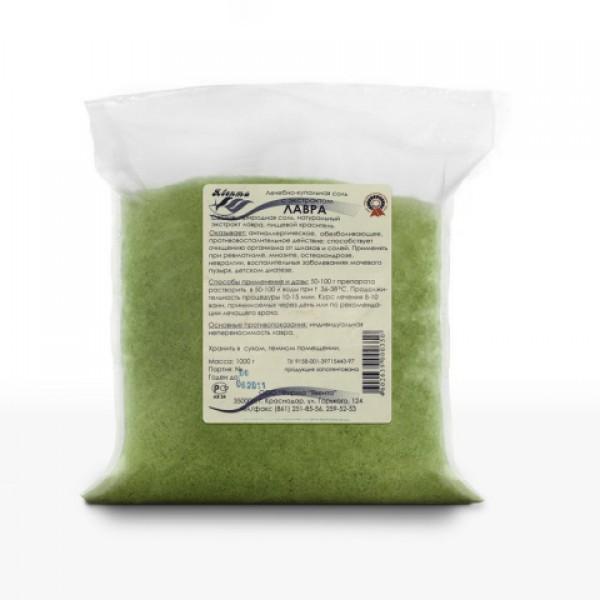 Лечебно-купальная соль с экстрактом ЛАВРА 1,0 кг