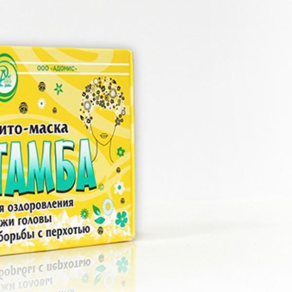 """Фито-маска """"Тамба"""" для оздоровления кожи головы и борьбы с перхотью"""
