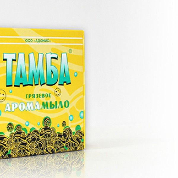 Мыло грязевое Тамба Чайное дерево-мята