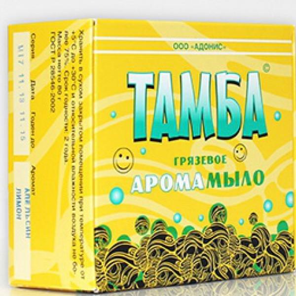 Мыло грязевое Тамба Чайное дерево-гвоздика