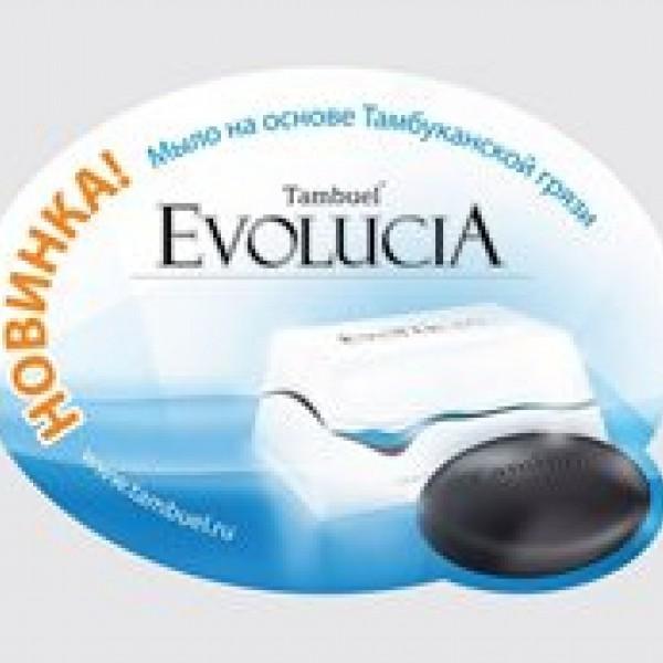 МЫЛО ГРЯЗЕВОЕ  «EVOLUCIA» 110,0 г